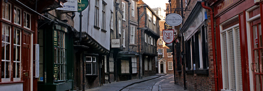 The Historic Shambles Medieval Street